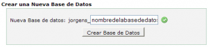 Crear una base de datos para WordPress