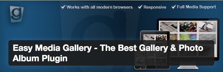 Easy Media Gallery; un plugin de imágenes para WordPress