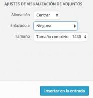Cómo insertar imágenes en Wordpress